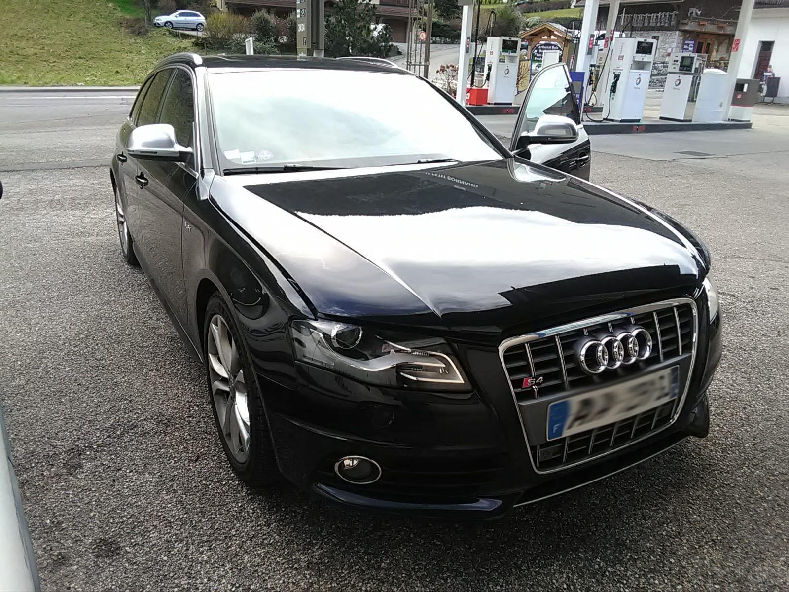 Reprogrammation Audi S4 3.0 TFSI 333 à 400cv en Haute Savoie